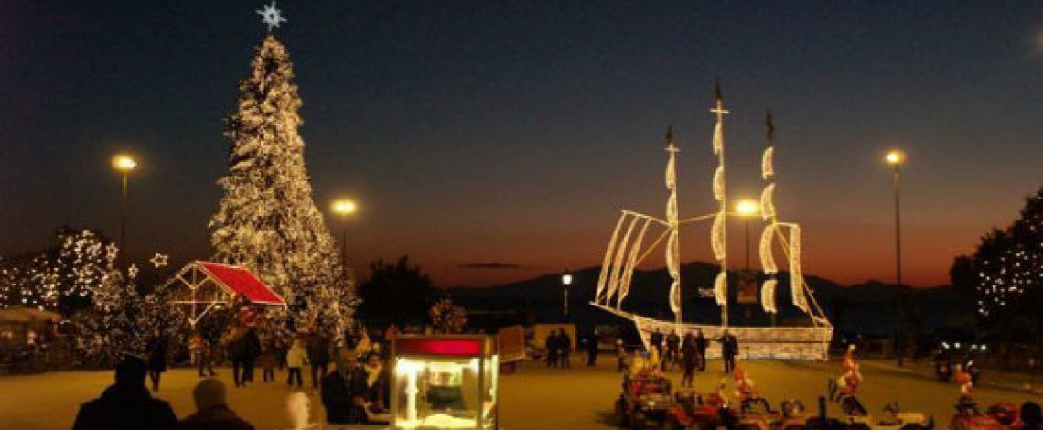 Λεωφορειακή γραμμή Θεσσαλονίκης Χριστούγεννα και Πρωτοχρονιά